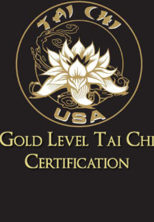 Gold Level Tai Chi Certification