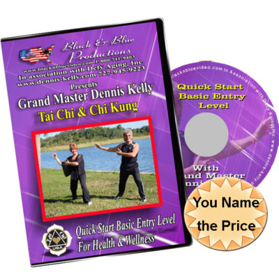 Tai Chi Entry Level 1 DVD, or Video
